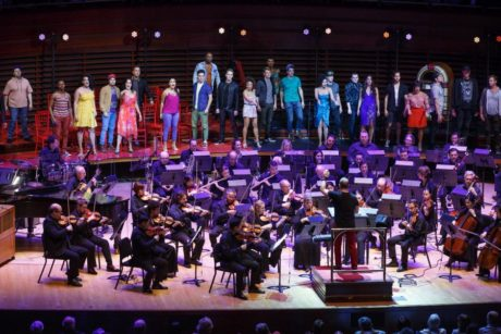 The ensemble and The Philadelphia Orchestra. Photo courtesy The Philadelphia Orchestra.