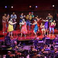 The ensemble and The Philadelphia Orchestra. Photo courtesy The Philadelphia Orchestra.