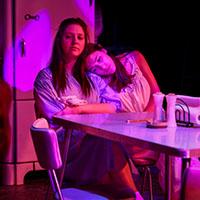 Colleen Hughes, Rachel Gluck and Tessa Kuhn. Photo by Rebecca Gudelunas.