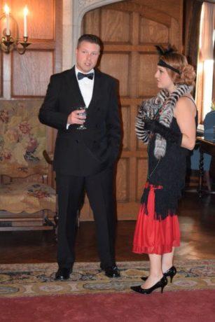 Tom Karolyi and Lauren Jones. Photo by Michael Brun.