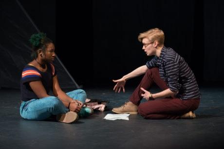 Ciera Gardner & Maggie Johnson. Photo by Johanna Austin/AustinArt.org.