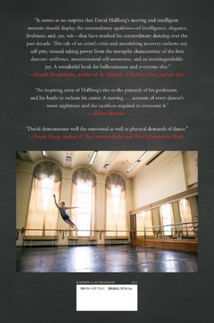 David Hallberg, A Body of Work (back cover). Photo by Henry Leutwyler. Design by Lauren Peters-Collaer.