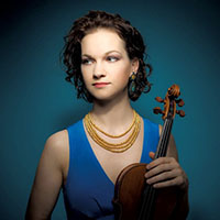 Hilary Hahn. Photo by Michael Patrick O'Leary.