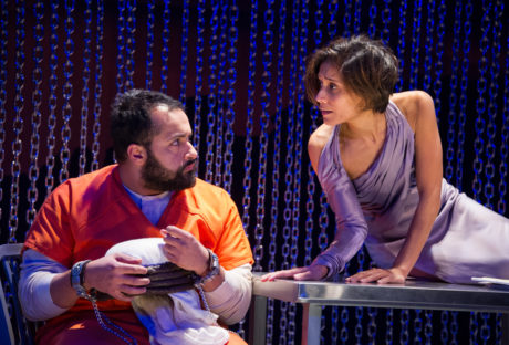 Ahmad Kamal and Lynette Rathnam in 4,380 Nights. Photo by C. Stanley Photography.