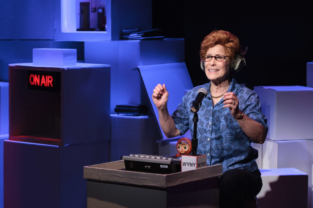 Naomi Jacobson as Dr. Ruth. Photo by Teresa Wood.