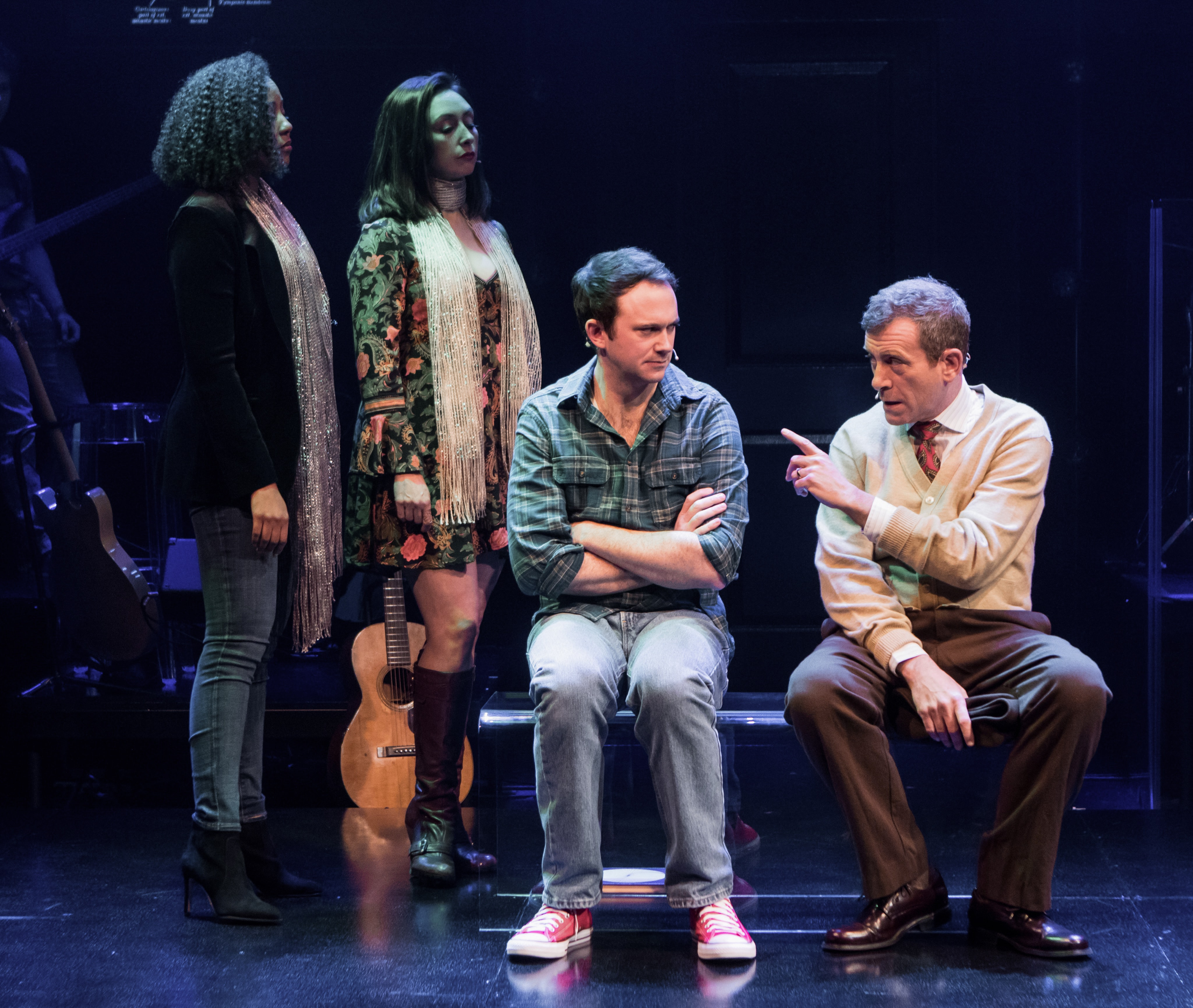 Kara-Tameika Watkins, Natascia Diaz, Luke Smith, and Bobby Smith. Photo by Christopher Mueller.
