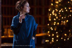 Heather Raffo as Noura in Noura. Photo by Scott Suchman.