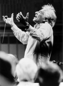 Leonard Bernstein. Photo by Paul de Heuck.