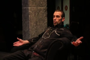 Jon Ingretson in I Hate Hamlet. Photo by Spotlighters Theatre/Shaelyn Jae Photography.