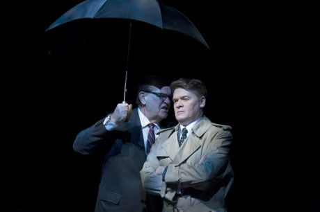 Jack Willis and John Scherer in The Great Society. Photo by C. Stanley Photography.
