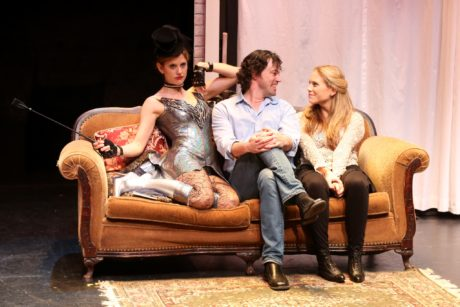 Elizabeth Inghram, Dana Watkins, and Charlotte Stoiber. Photo by Arin Sang-urai.