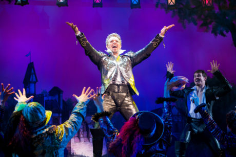 Adam Pascal and the cast of Something Rotten! Photo by Jeremy Daniel.
