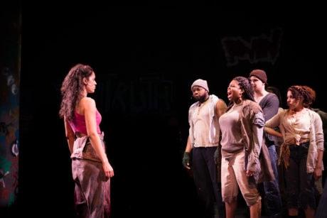 Briana Taylor and ensemble. Photo by RJ Pavel.