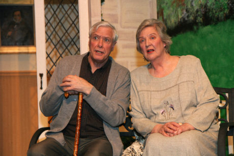 ​John Allnutt as Wilf and Angela Cannon as Cissy. Photo by Simmons Design​
