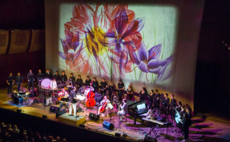 """""""Flowers,"""" the fourth movement in Julia Wolfe's Anthracite Fields. Photo by Chris Lee."""