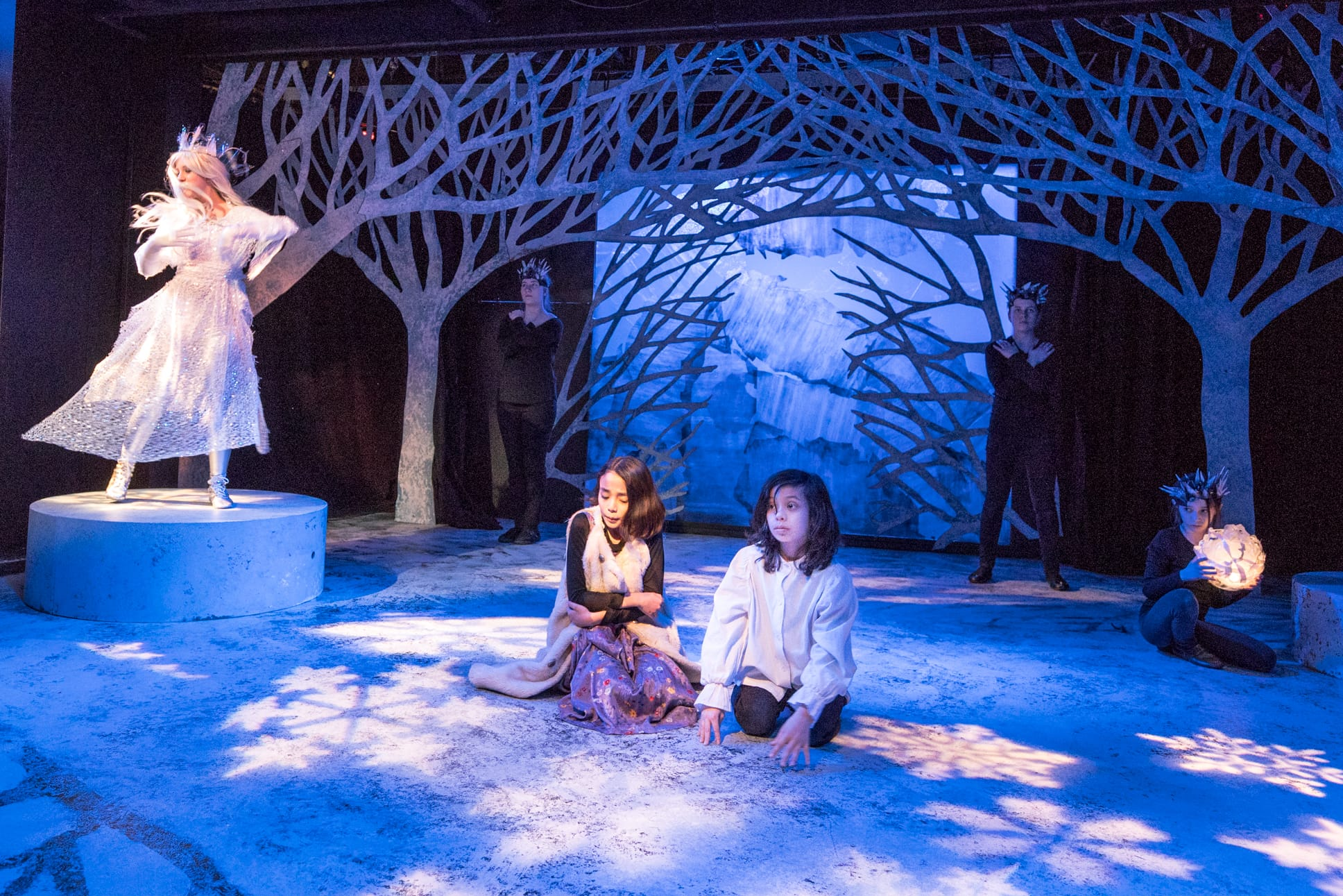 The Snow Queen, now playing at Creative Cauldron. Photo by Gary Mester.