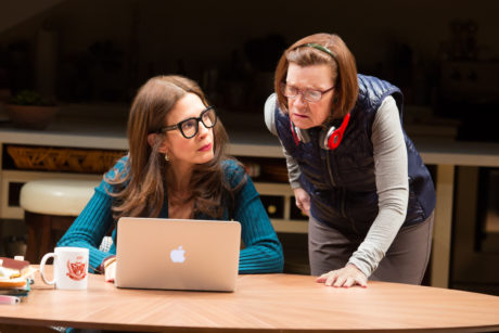 Jessica Hecht and Ann McDonough. Photo by Jeremy Daniel.