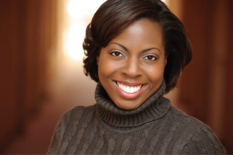 Artistic Director Farah Harris. Photo courtesy of Young Playwrights' Theater.