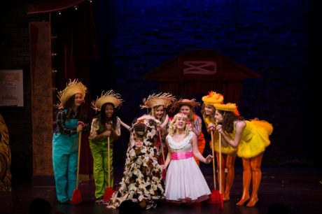 The cast of Gypsy, A Musical Fable. Photo by Lock & Company.