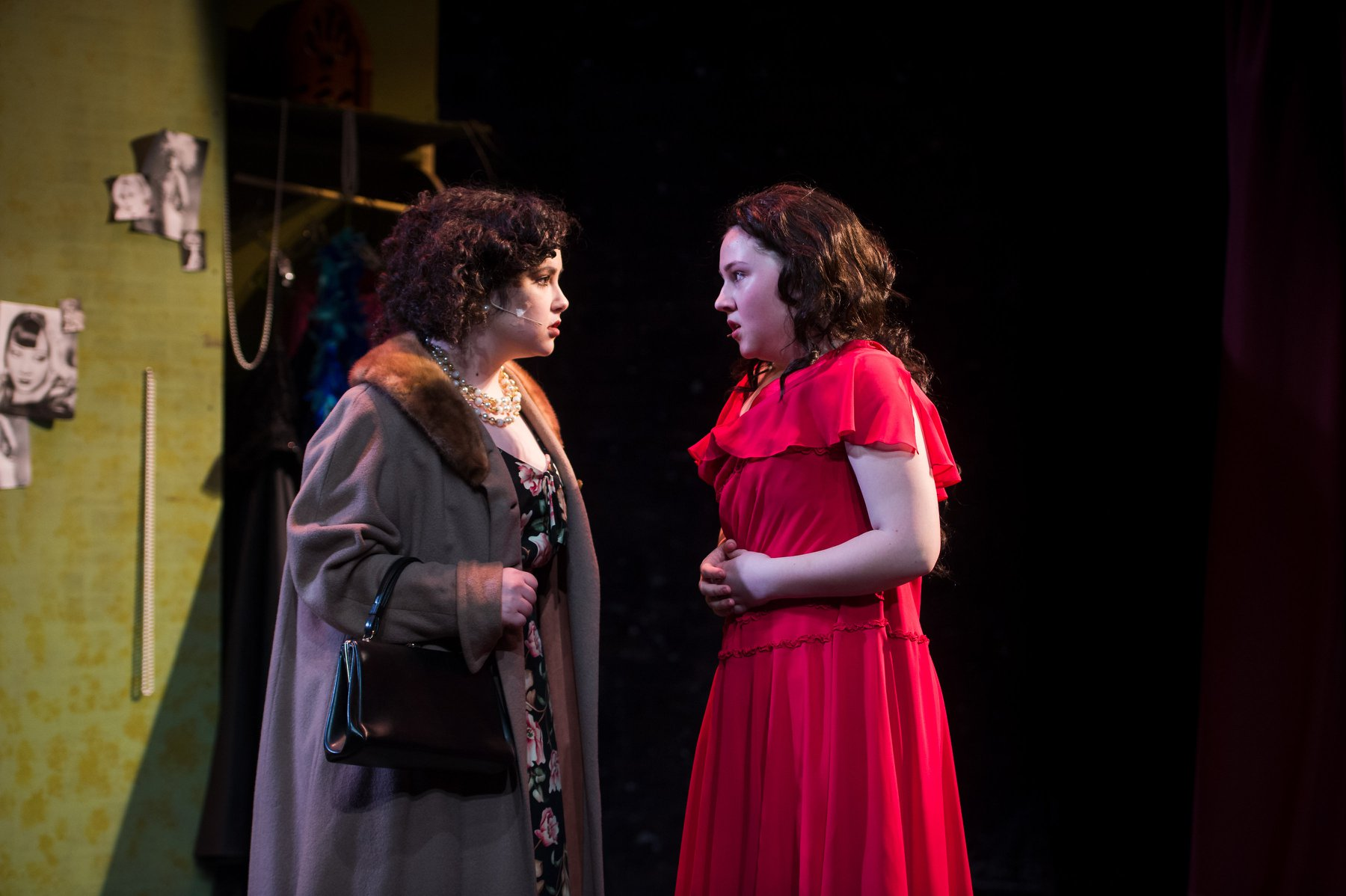 Chloe Friedman and Meghan Carey in Gypsy, A Musical Fable. Photo by Lock & Company.