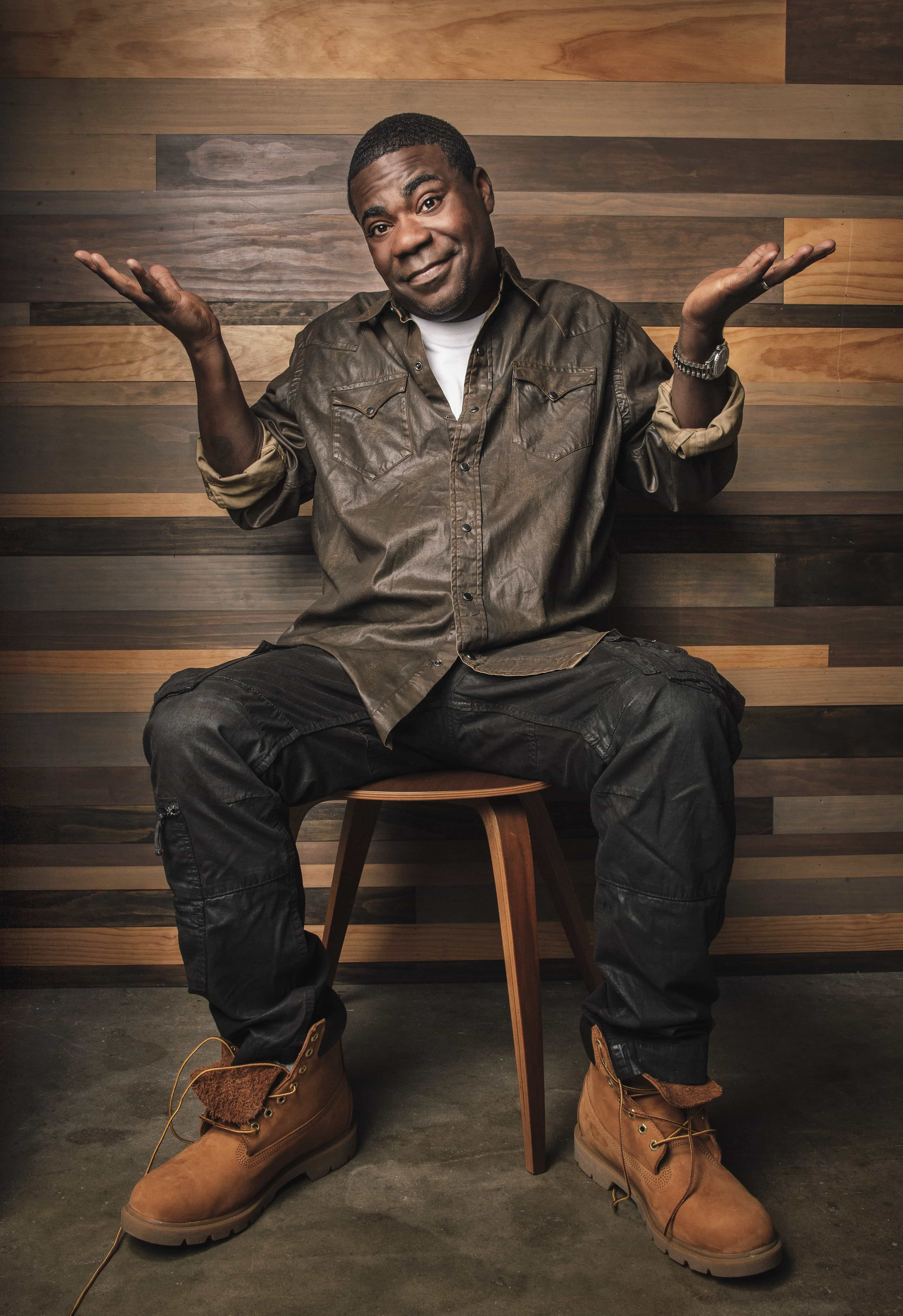 Tracy Morgan. Photo by Paul Mobley.