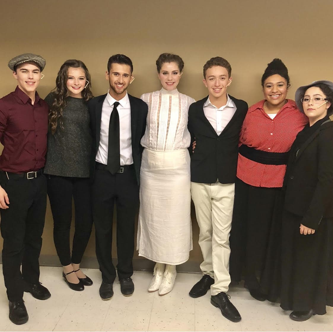The cast of Ragtime.