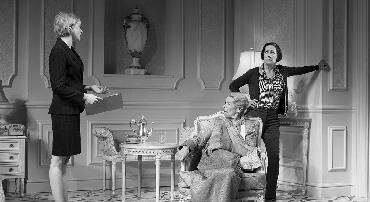 Alison Pill, Glenda Jackson, and Laurie Metcalf. Photo by Brigitte Lacombe.