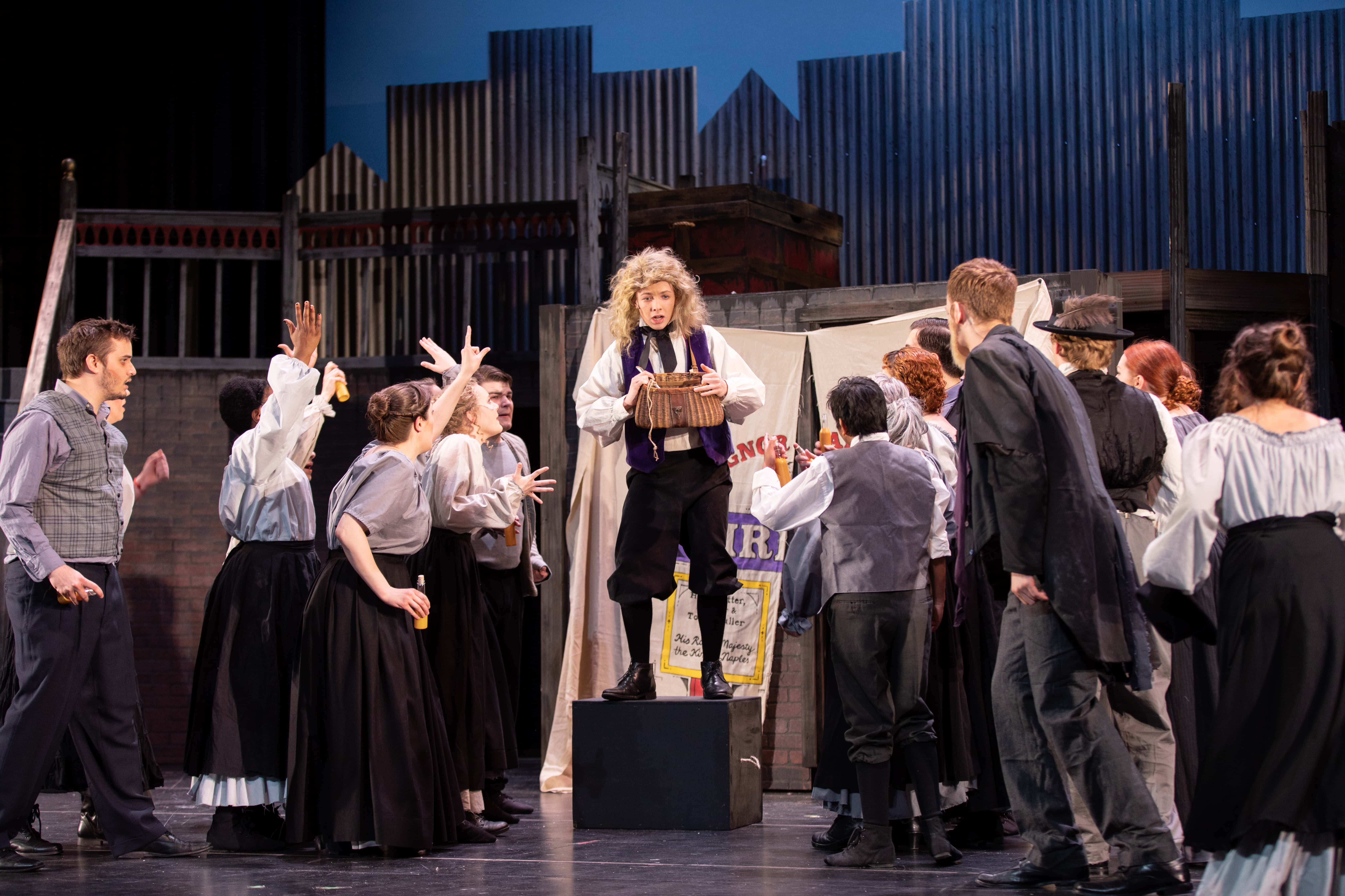 The Arlington Players' Sweeney Todd runs through April 28 at Thomas Jefferson Theatre. Photo by Peter Hill.