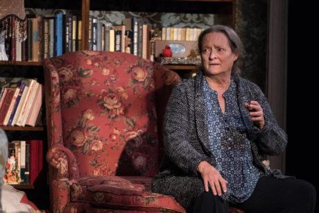 Nancy Robinette in John at Signature Theatre. Photo by Margot Schulman.