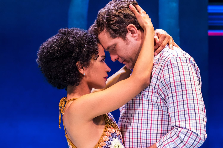 Lauren Ridloff and Joshua Jackson. Photo by Matthew Murphy.