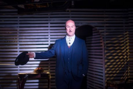 Tad Janes as Alfieri in A View from the Bridge. Photo by Madeline Reinhold.