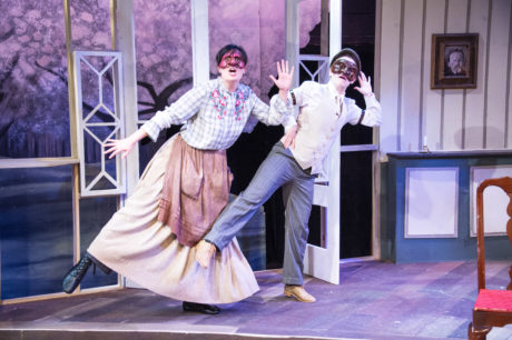 (L to R): Francesca Chilcote and Kathryn Zoerb in The Cherry Orchard. Photo by C. Stanley Photography.