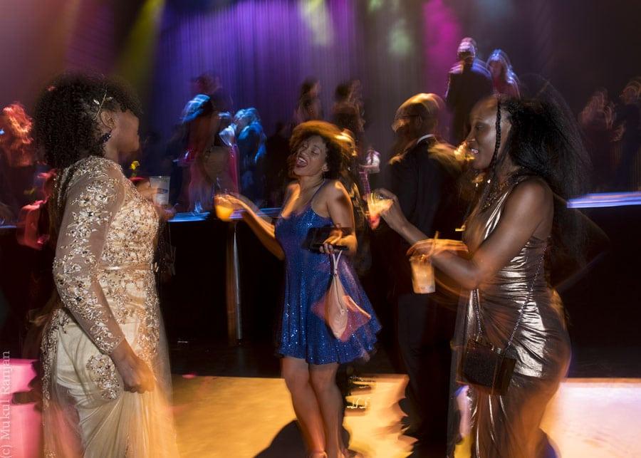 Post show dancing.