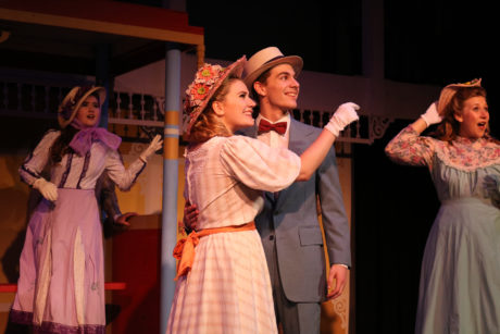 Kasey Taylor and Owen Raynor in Meet Me in St. Louis. Photo courtesy of Susan Thornton, Other Voices Theatre.
