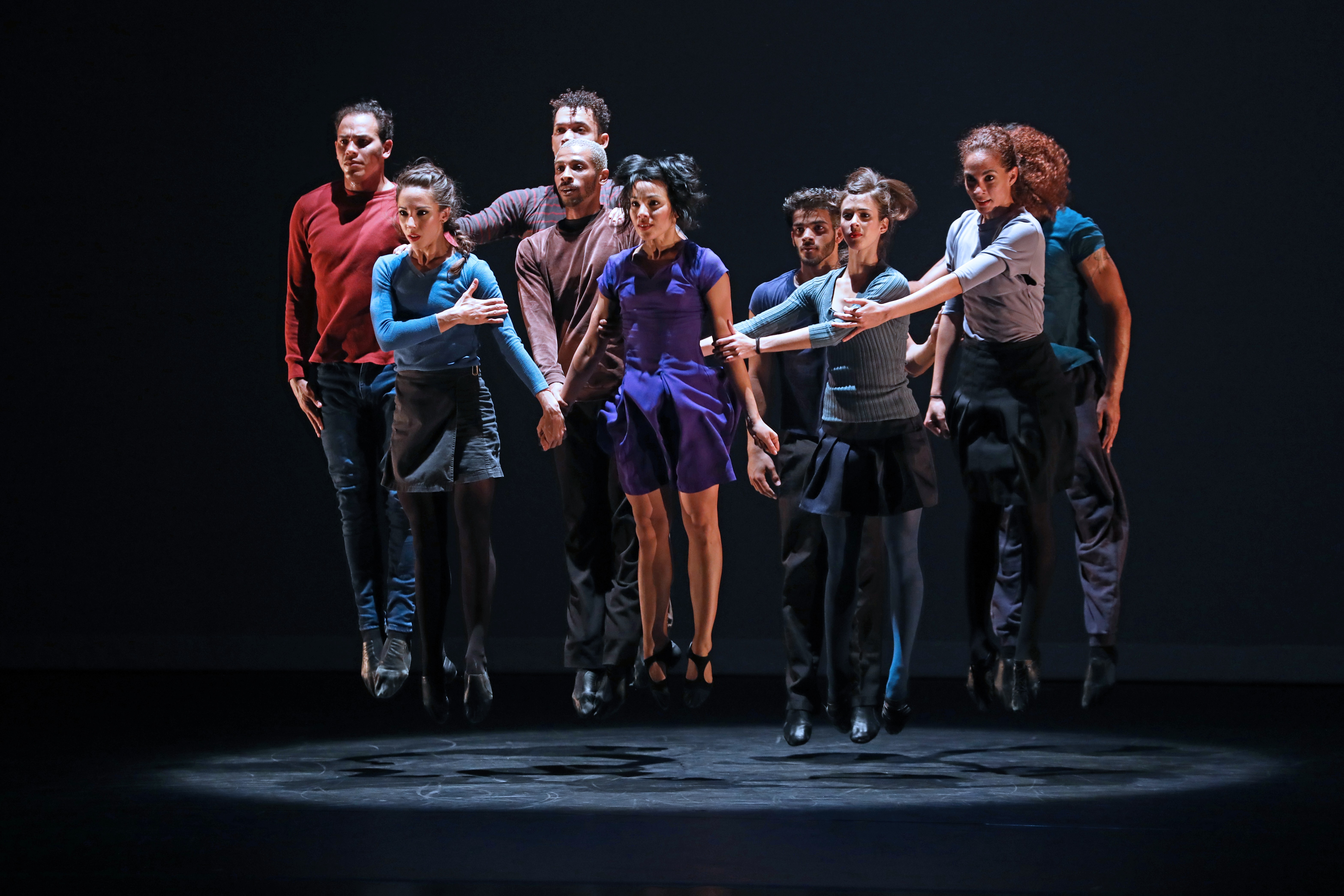 Malpaso Dance Company performs 24 Hours and a Dog. Photo by Bill Hebert.