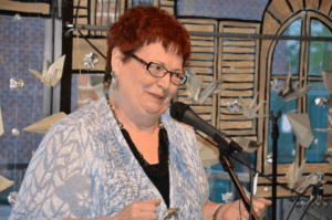 Storyteller Geraldine Buckley. Photo courtesy of Better Said Than Done.