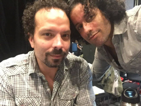 Marcos Santana and Luis Salgado in Holland where they both recently worked on On Your Feet! Photo courtesy of the artists.