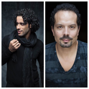 Left to Right: Luis Salgado and Marcos Santana. Photos courtesy of the artists.