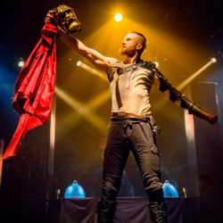Philip Fletcher in Synetic Theater's Titus Andronicus. Photo by Brittany Diliberto.