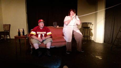 Shawn Fournier and Jenifer Grundy in 5 Courses of Funny Fare. Photo by Rick Bergmann.
