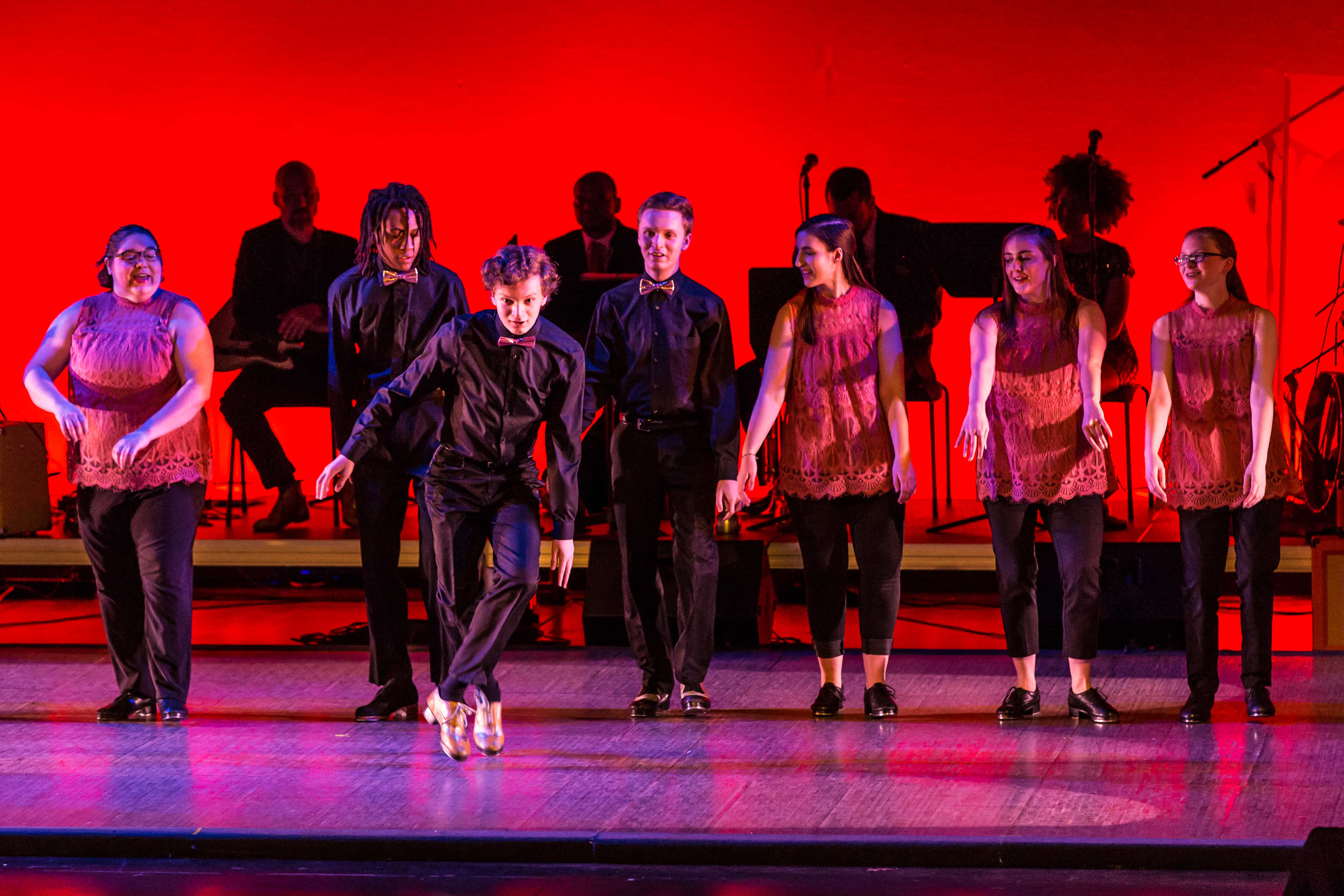 Under-18 dance ensemble Capitol Tap, which performs June 15 and 16 with District Tap at Dance Place.