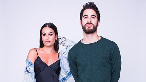 Lea Michele and Darren Criss. Photo courtesy of the Kennedy Center.