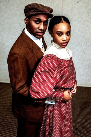 Carl Williams and Ashley Lyles in Ragtime, now playing at 2nd Star Productions. Photo by Nate Jackson.