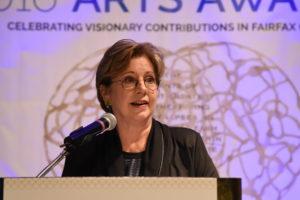 Linda Sullivan, President and CEO of ARTSFAIRFAX. Photo by Neshan Naltchayan.