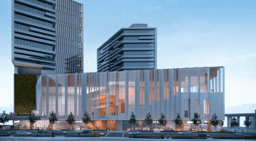 The Capital One Center in Tysons, slated to open in 2020-2021, will bring a new performance venue to Fairfax County. Photo courtesy of ARTSFAIRFAX.