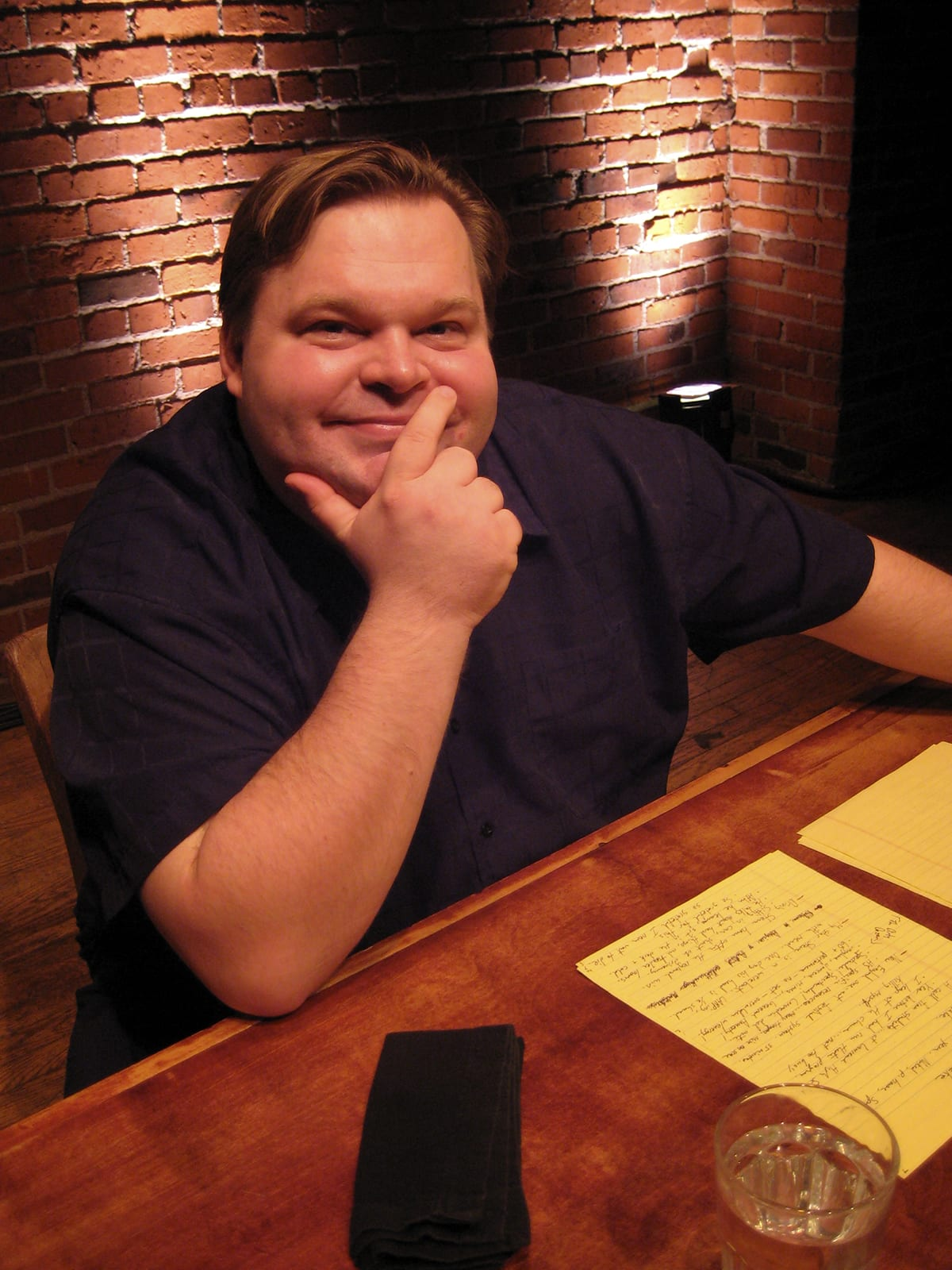 Mike Daisey, creator and performer of 'The Story of the Gun.'