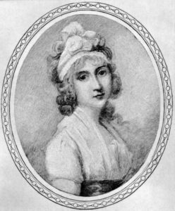 Angelica Schuyler Church painted by Richard Cosway.
