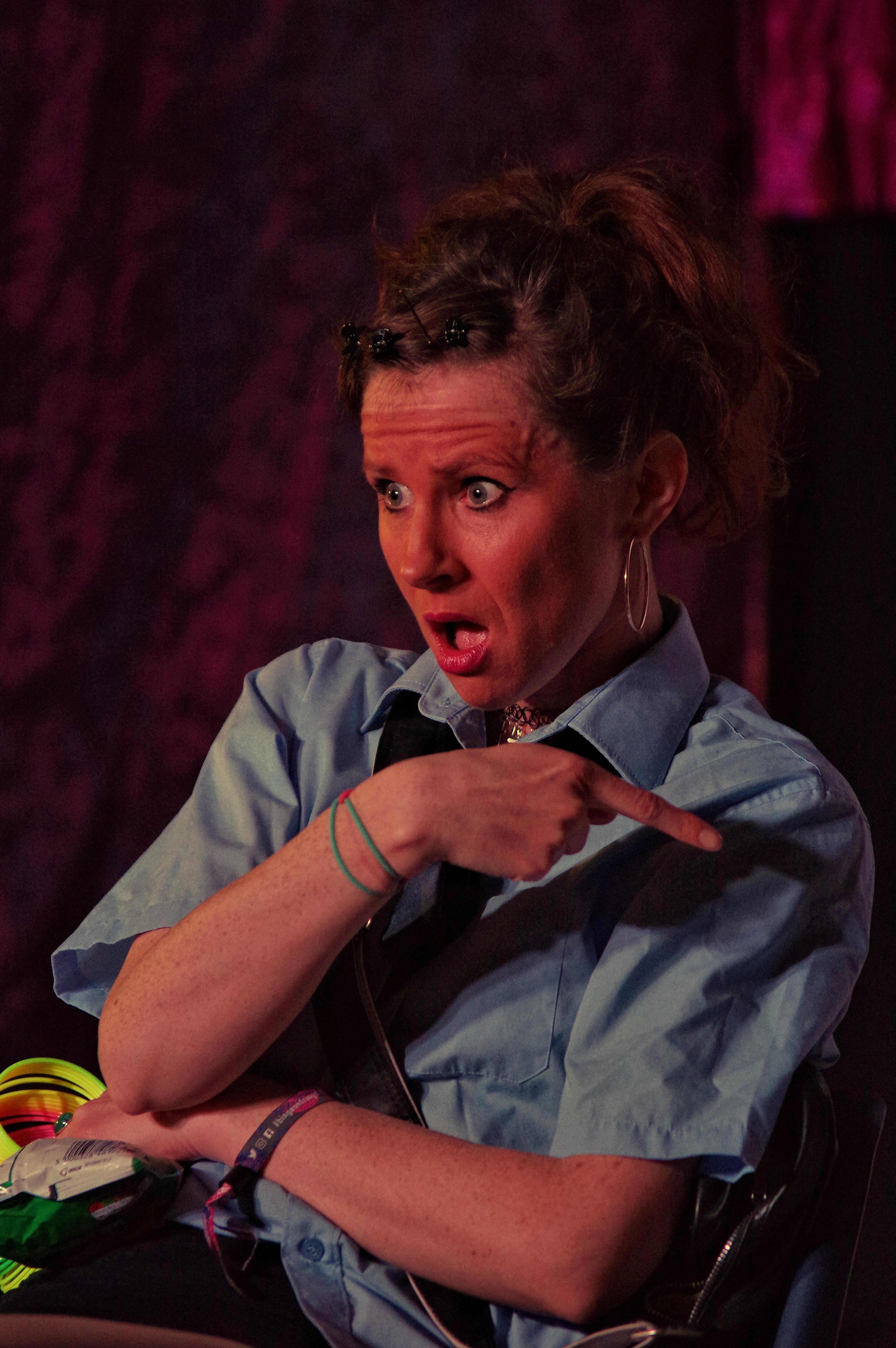 Colette Forde. Photo Courtesy of SoHo Playhouse.
