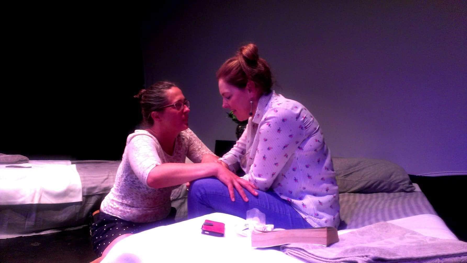 Eavan Brennan and Siobhan Donnellan. Photo Courtesy of SoHo Playhouse.