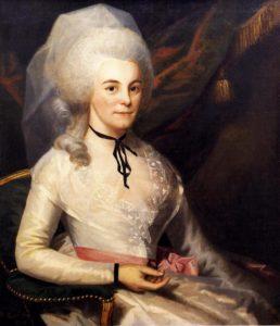 Elizabeth Schuyler Hamilton. Painted by Ralph Earl.